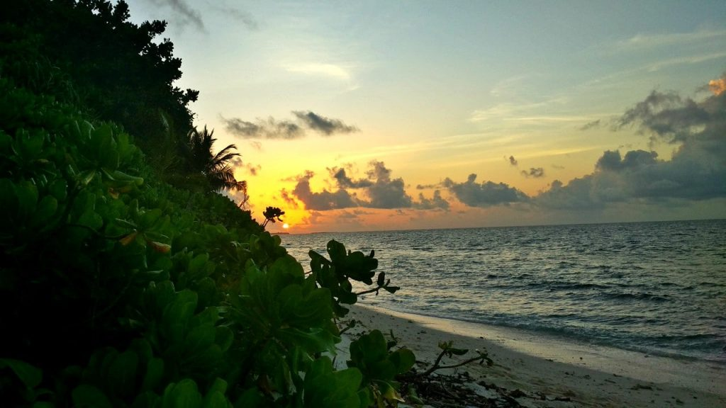 dharavandhoo-beach-sunset