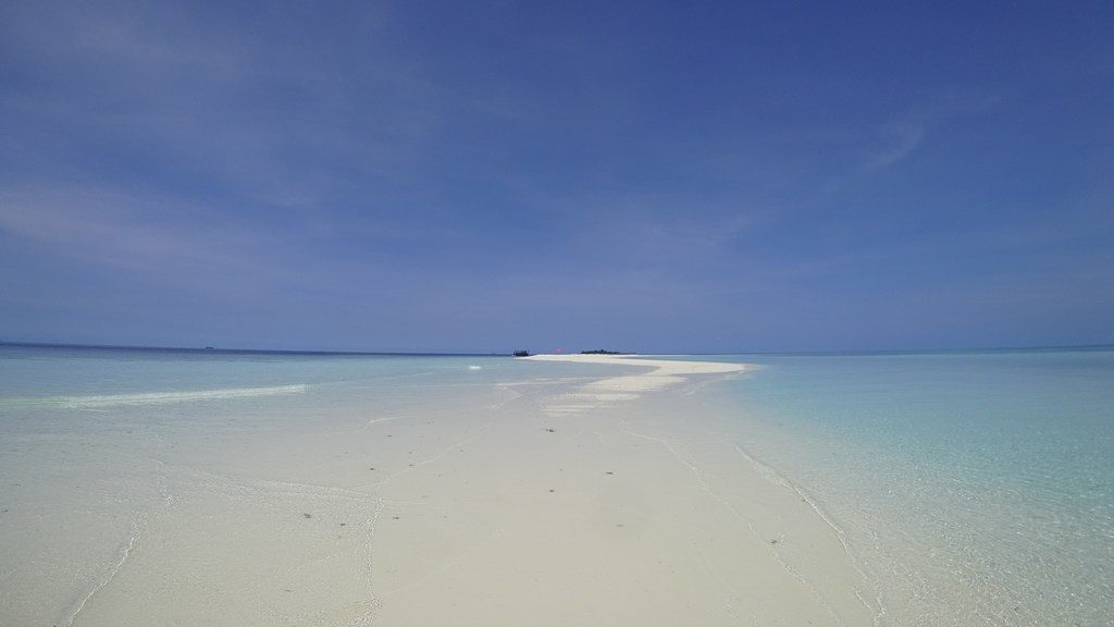 how to choose local island sandbank